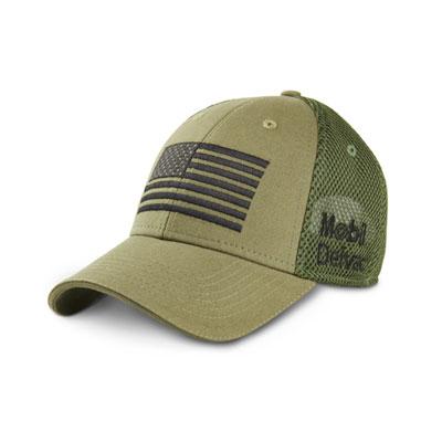 Olive green cap