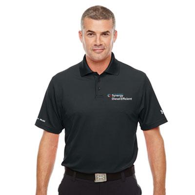 Men's Synergy Diesel Efficient™ Under Armour® black polo
