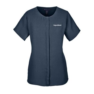 ExxonMobil crepe blouse
