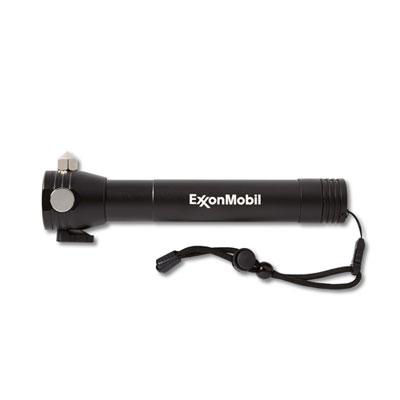 ExxonMobil™ flashlight with escape hammer