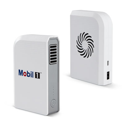 Mobil 1™ Arctic power bank with fan