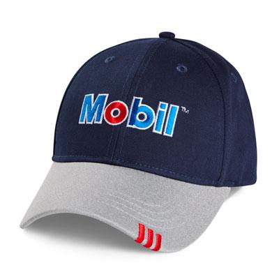 Mobil™ Pegasus cap with tipped visor