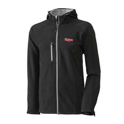 Men's Exxon™ hooded black jacket