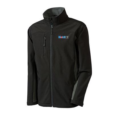 Men's Mobil 1™ soft shell black jacket