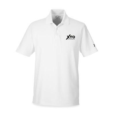 Men's XTO Energy™ Under Armour® white polo