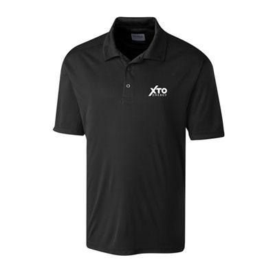 Men's XTO Energy™ black Parma polo