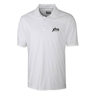 Men's XTO Energy™ white Parma polo