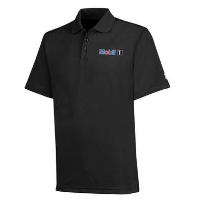 Men's Mobil 1™ Under Armour® black polo