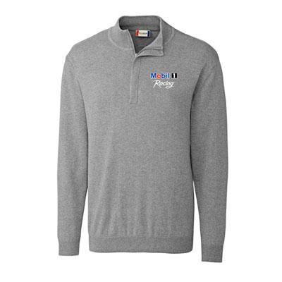 Men's half-zip sweater