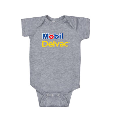 Baseball grey infant bodysuit