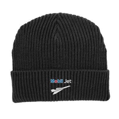Mobil Jet™ Genuine wool watch cap