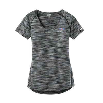 Mobil 1 Racing™ Ladies Ogio® endurance scoop neck t-shirt